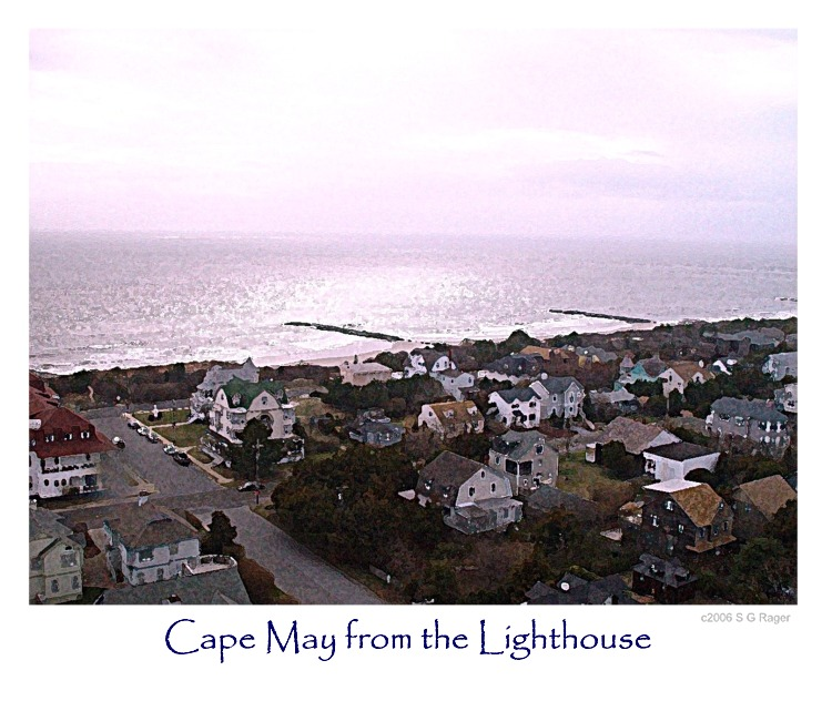 Cape May from the Lighthouse