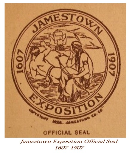 Jamestown Expo Seal 1907