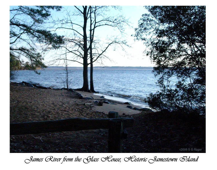 Jamestown - James River from the Glass House
