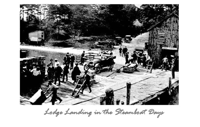 Lodge Landing, Steamboat Days, Northumberland County, VA