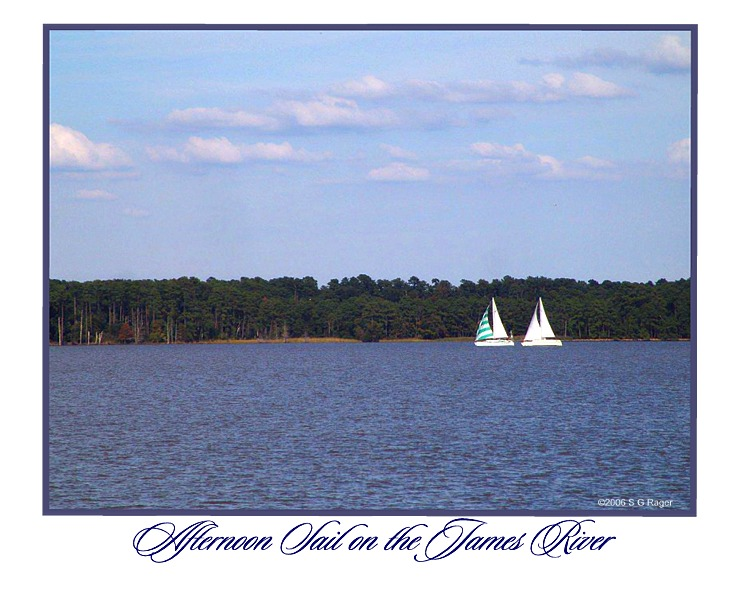 Afternoon Sail, James River