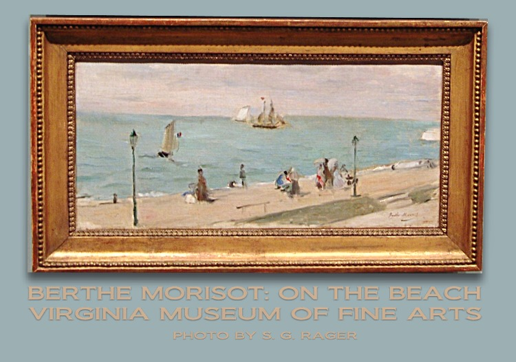 Berthe Morisot: On the Beach