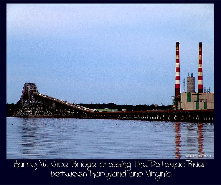 Harry W. Nice (Potomac River) Bridge, Maryland to Virginia