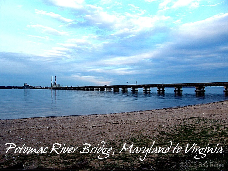 Potomac River Bridge, Maryland to Virginia