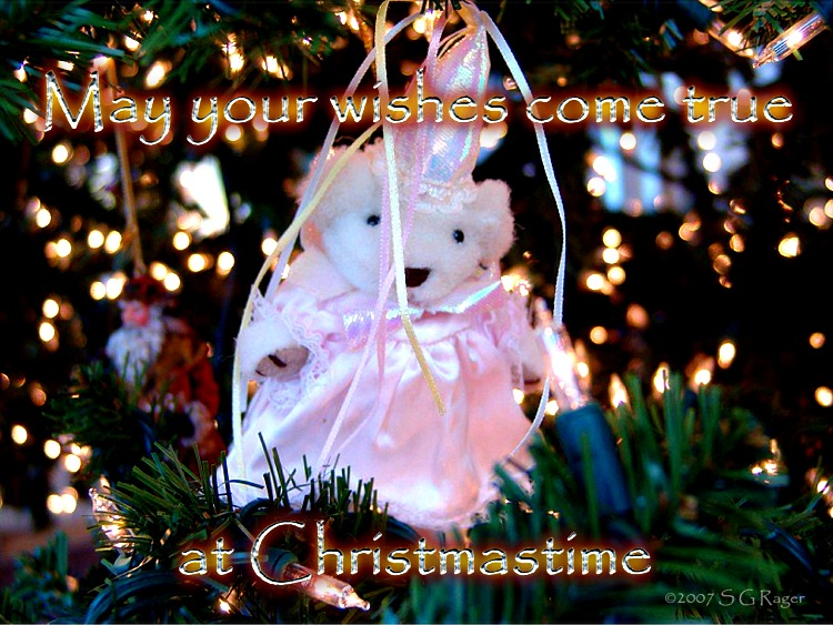 May your wishes come true at Christmastime