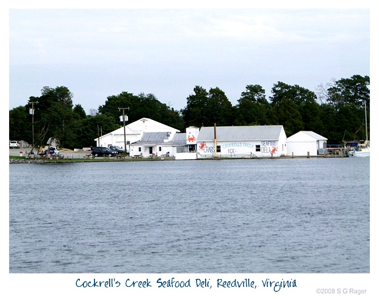 Cockrell's Creek Seafood and Deli, Reedville, Virginia