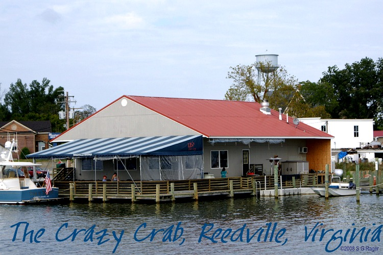 Crazy Crab Restaurant, Reedville, Virginia