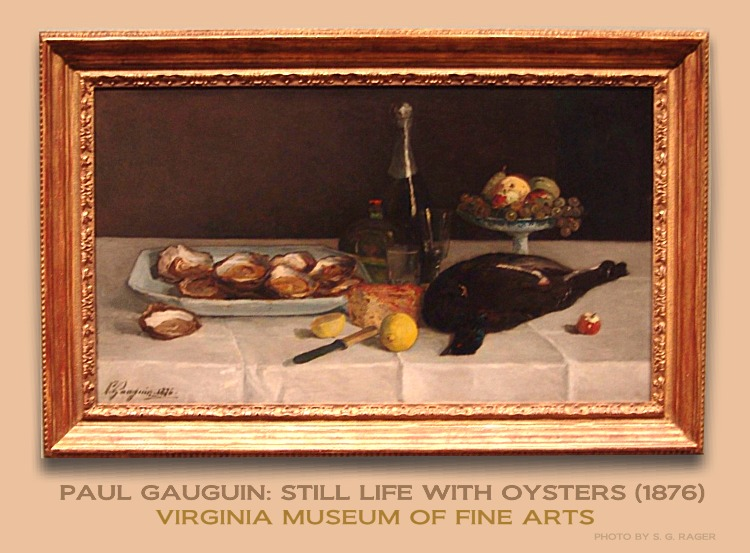 Gauguin: Still Life with Oysters
