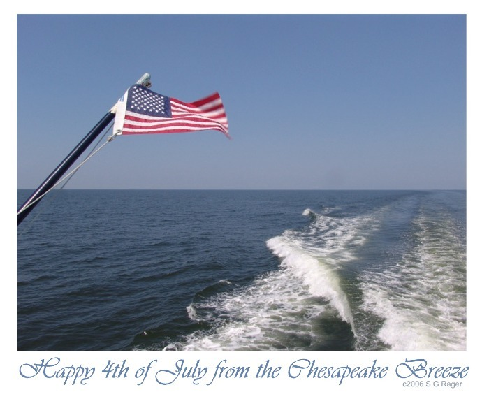 Happy 4th of July from the Chesapeake Breeze