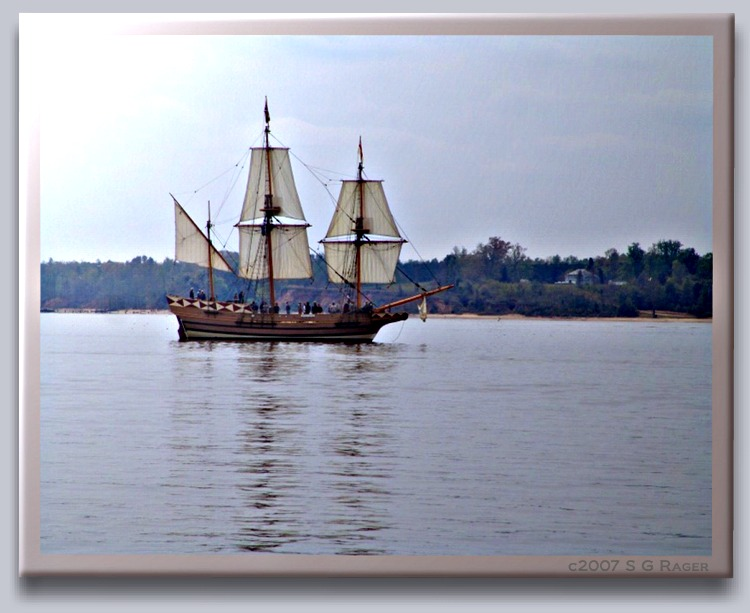 Jamestown Replica Ship