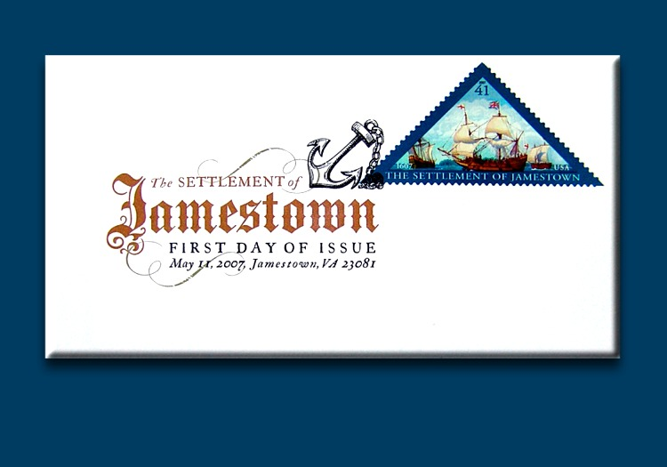 Jamestown 2007 First Day Cover