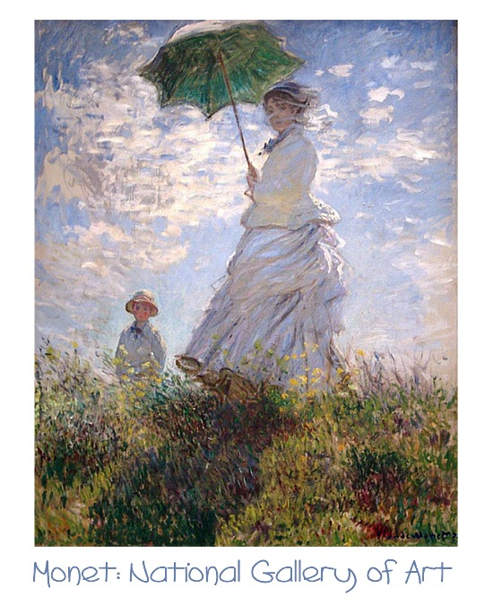 Monet: Woman with a Parasol, National Gallery of Art, Washington, DC