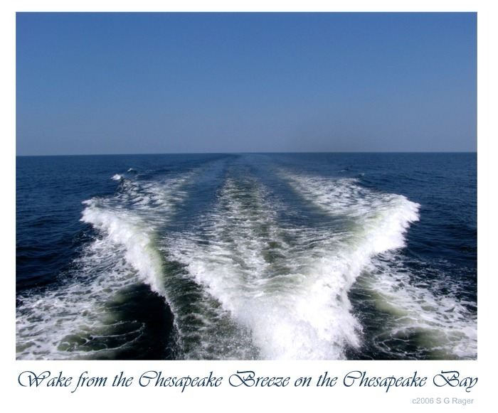 Chesapeake Bay: Wake