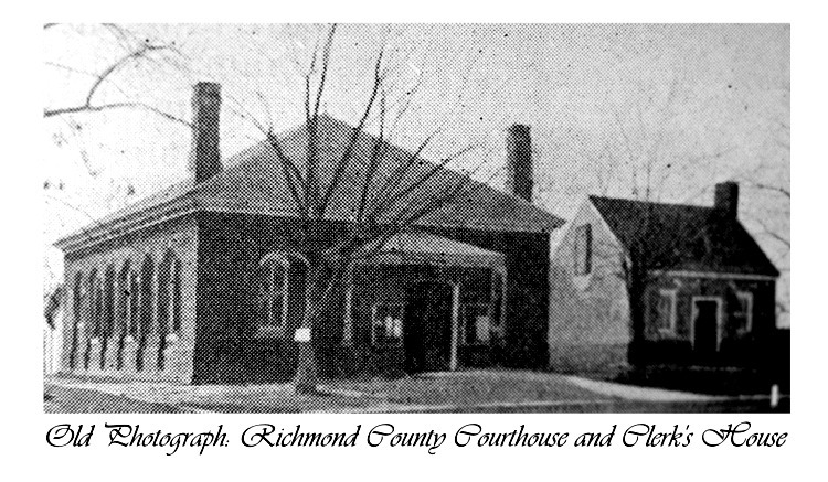 Richmond County Courthouse & Clerk's Office, Warsaw, VA