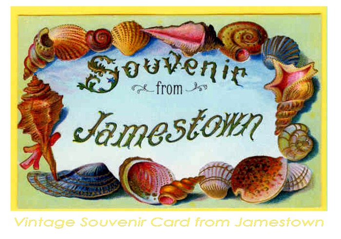 Souvenir from the Jamestown Exposition in 1907
