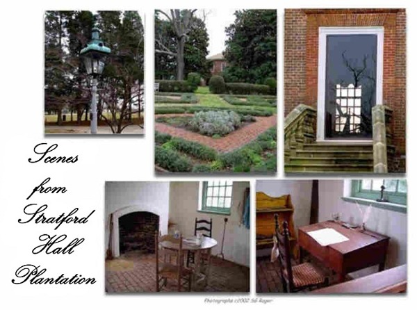 Scenes from Stratford Hall Plantation