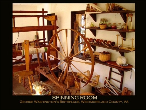 Spinning Room at Wakefield, Westmoreland County, VA